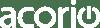 Acorio Logo White AW