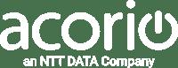 Acorio an NTT DATA Company White Small