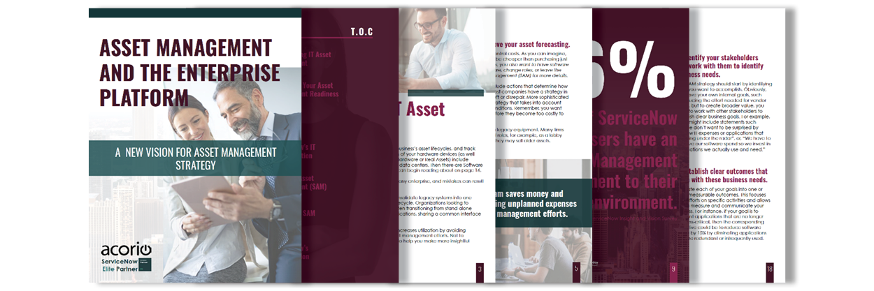 Asset eBook Pages