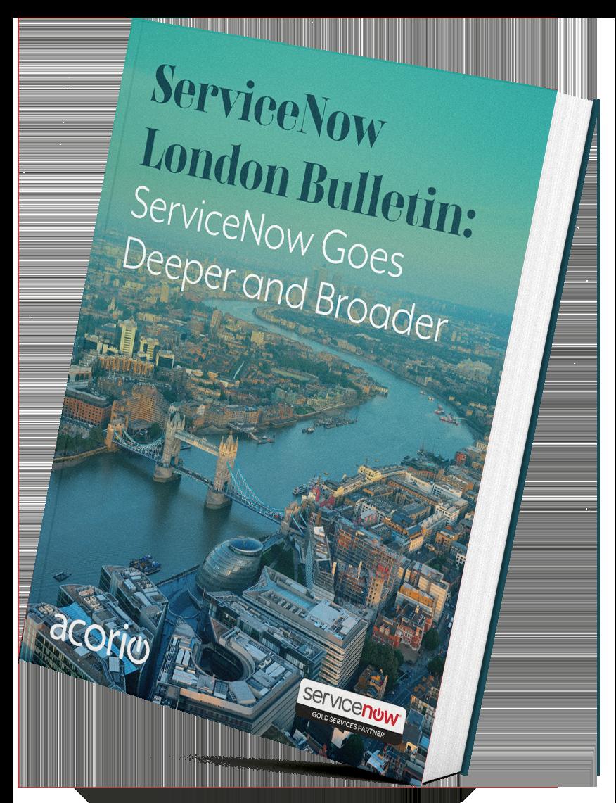 ServiceNow London eBook
