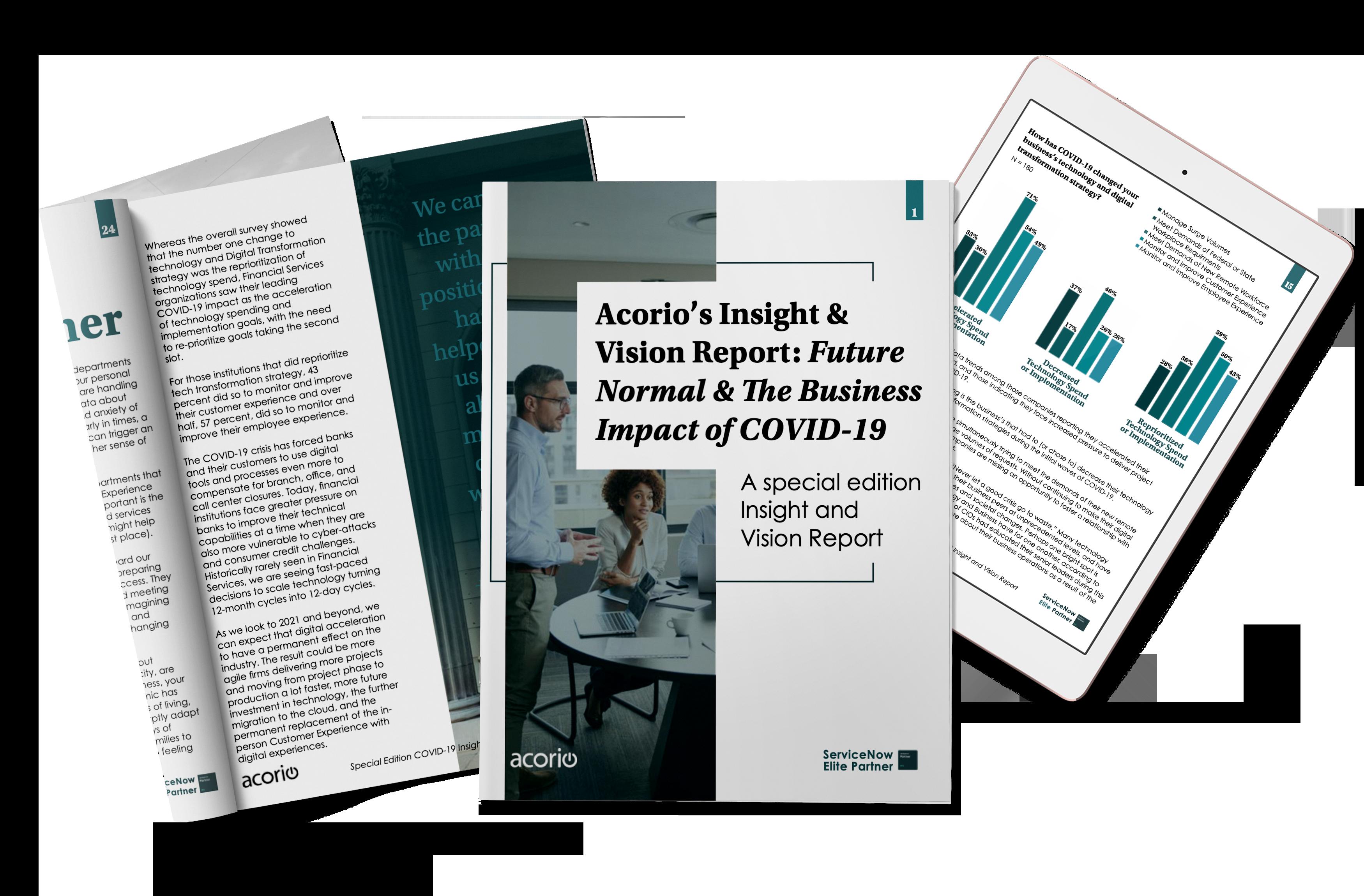 COVID Report Mockup