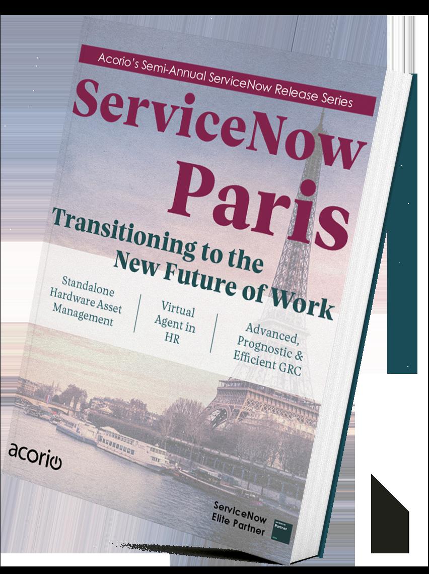 Paris Standing Book Cover