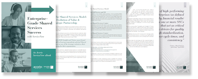 Shared Services eBook Mockup